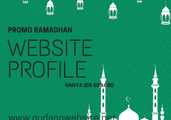Promo Ramadhan Website Profil Murah